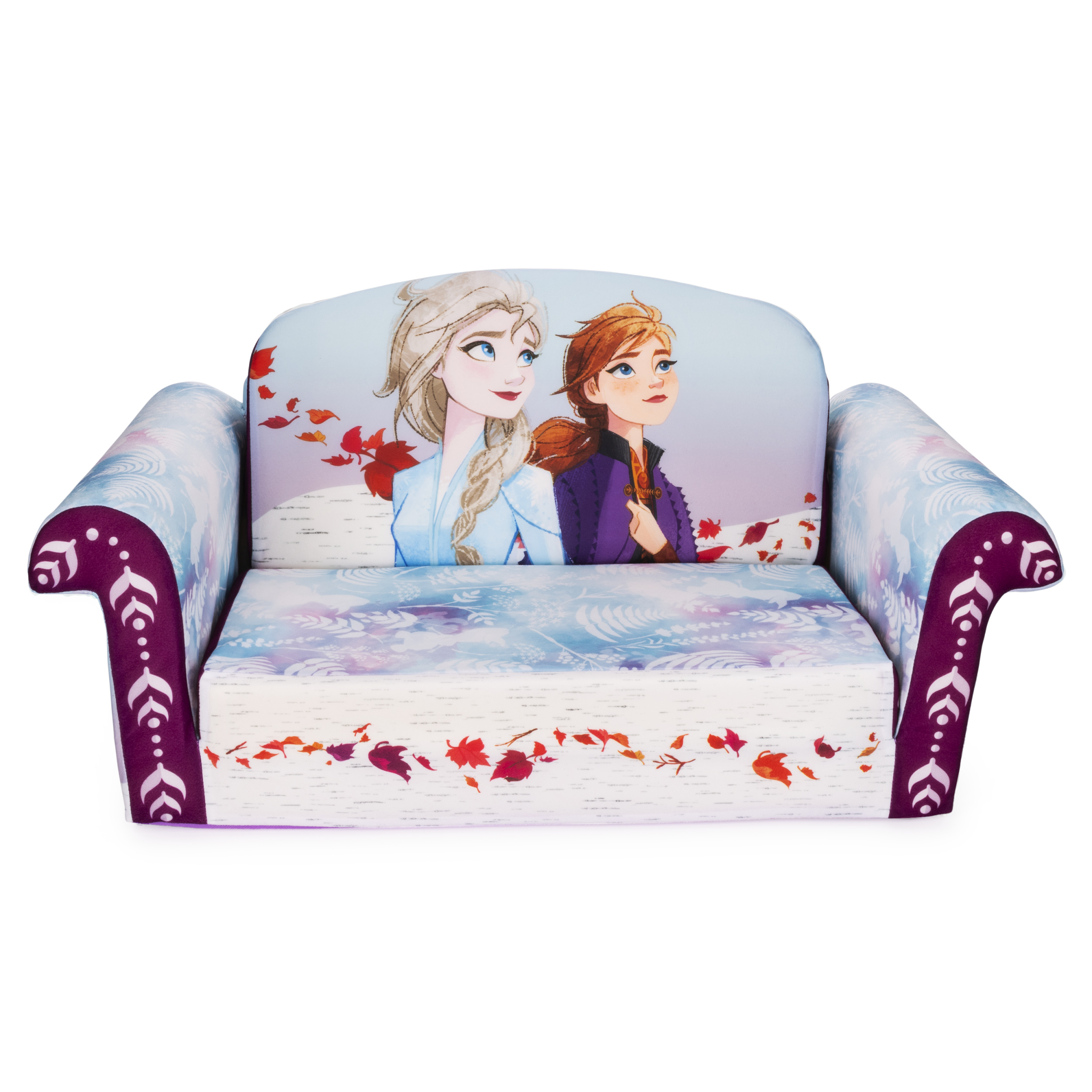 Marshmallow Furniture 2 In 1 Flip Open Couch Bed Kids Intended For Disney Sofa Chairs (View 1 of 15)