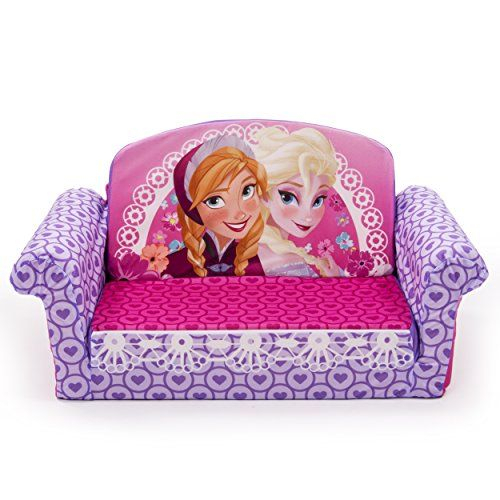 Marshmallow Furniture Disney Frozen Flip Open Sofa Intended For Disney Sofa Chairs (View 4 of 15)