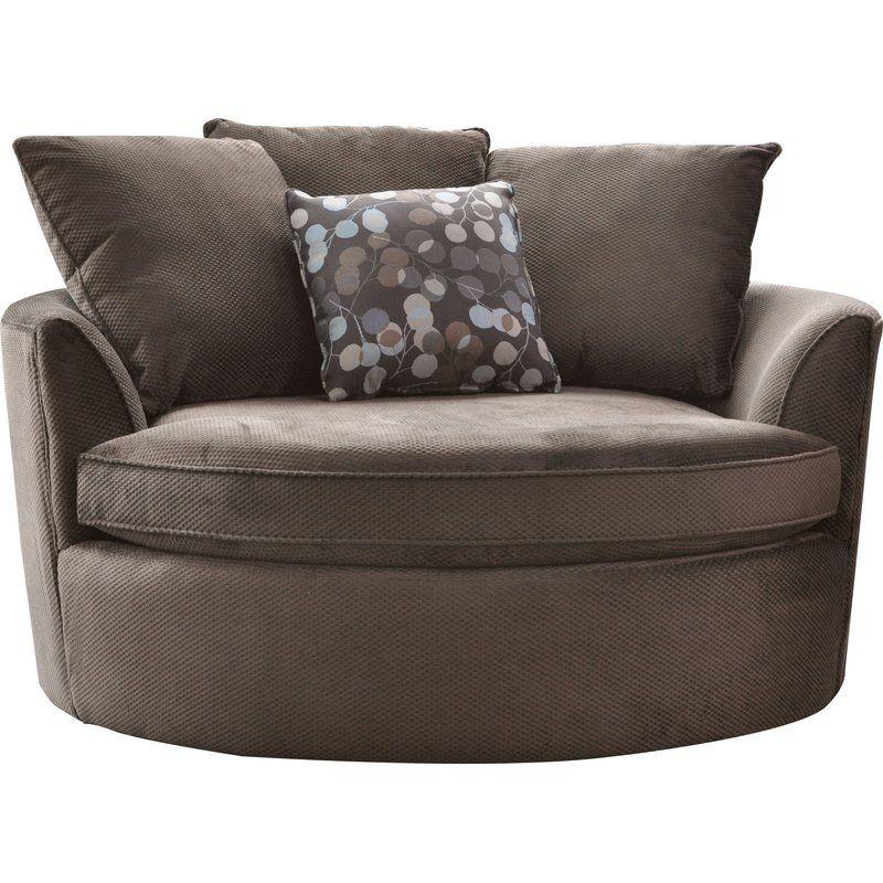 Marta Barrel Chair | Cuddler Chair, Chair, A Half, Barrel With Regard To Cuddler Swivel Sofa Chairs (View 8 of 15)