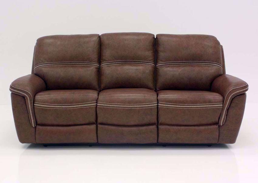 Mason Leather Power Reclining Sofa – Brown Regarding Expedition Brown Power Reclining Sofas (View 15 of 15)
