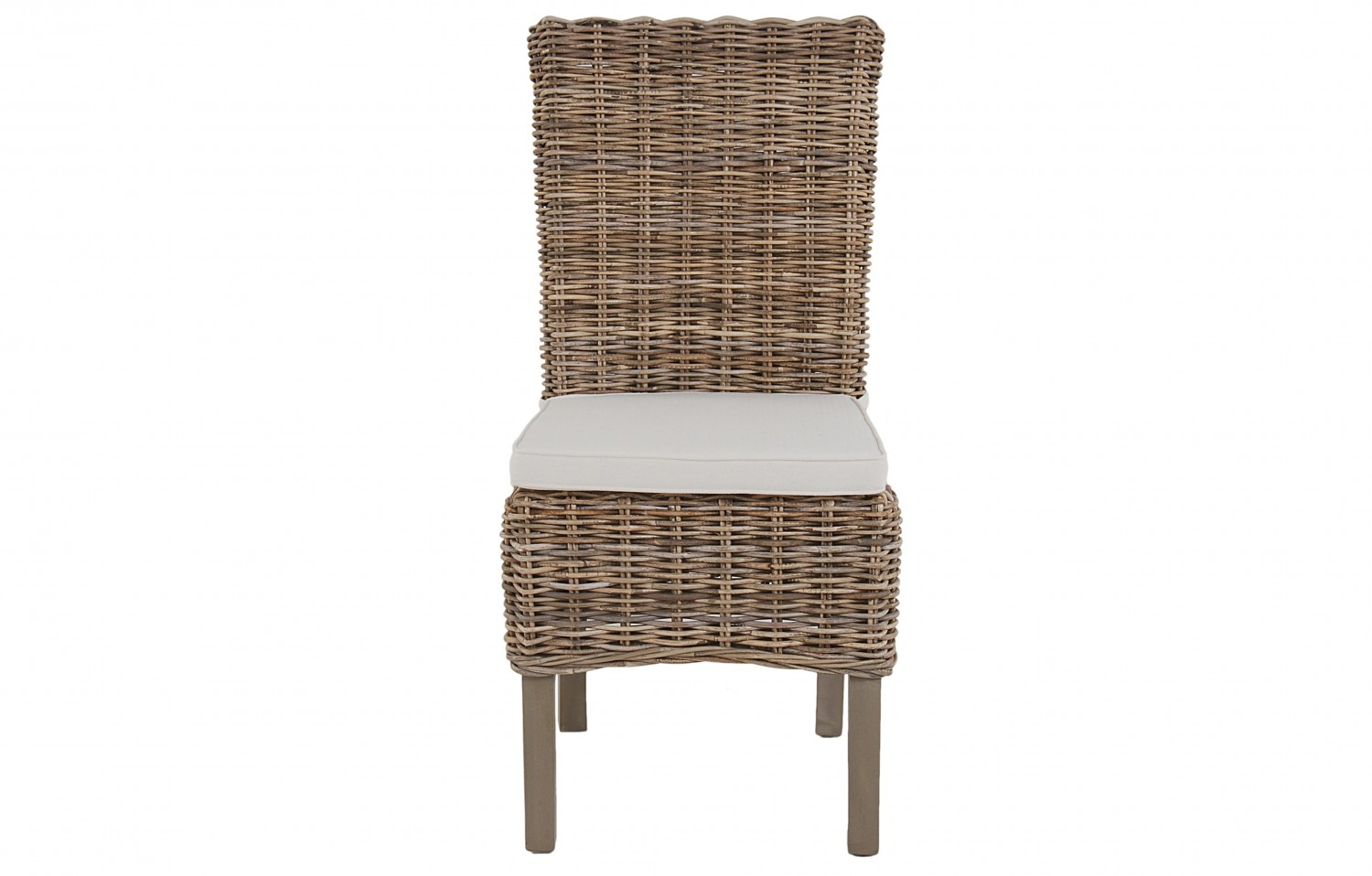 Maya High Back Rattan Chair In Natural Colour Pertaining To High Back Sofas And Chairs (View 11 of 15)