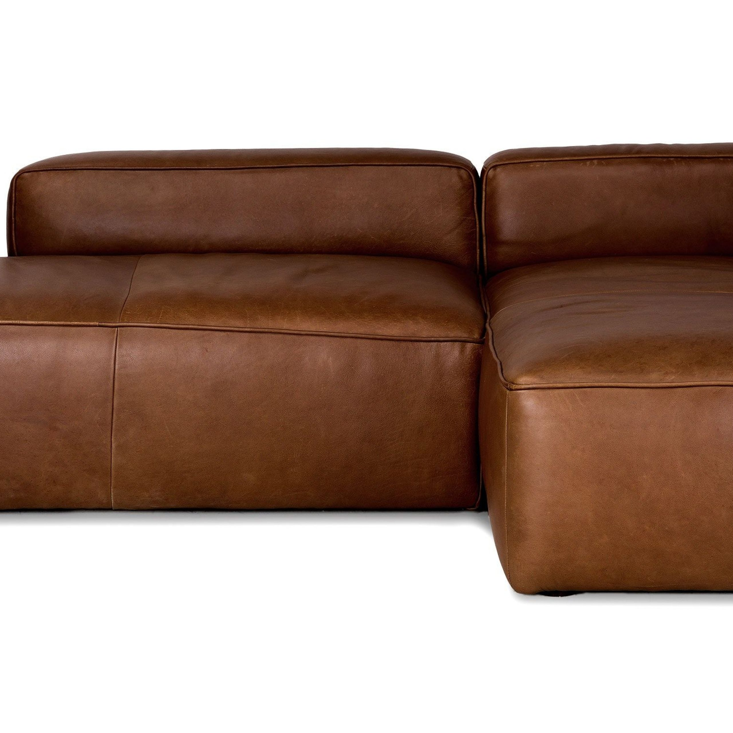 Mello Taos Brown Right Sectional | Mid Century Modern Sofa Within Florence Mid Century Modern Right Sectional Sofas (View 15 of 15)