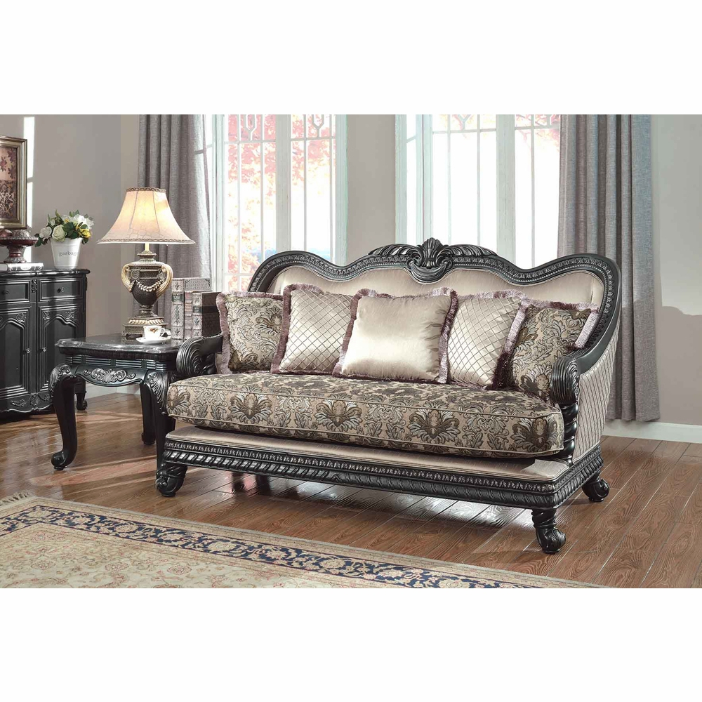 Meridian Furniture – Florence Loveseat – 618 L With Regard To Florence Sofas And Loveseats (View 11 of 15)