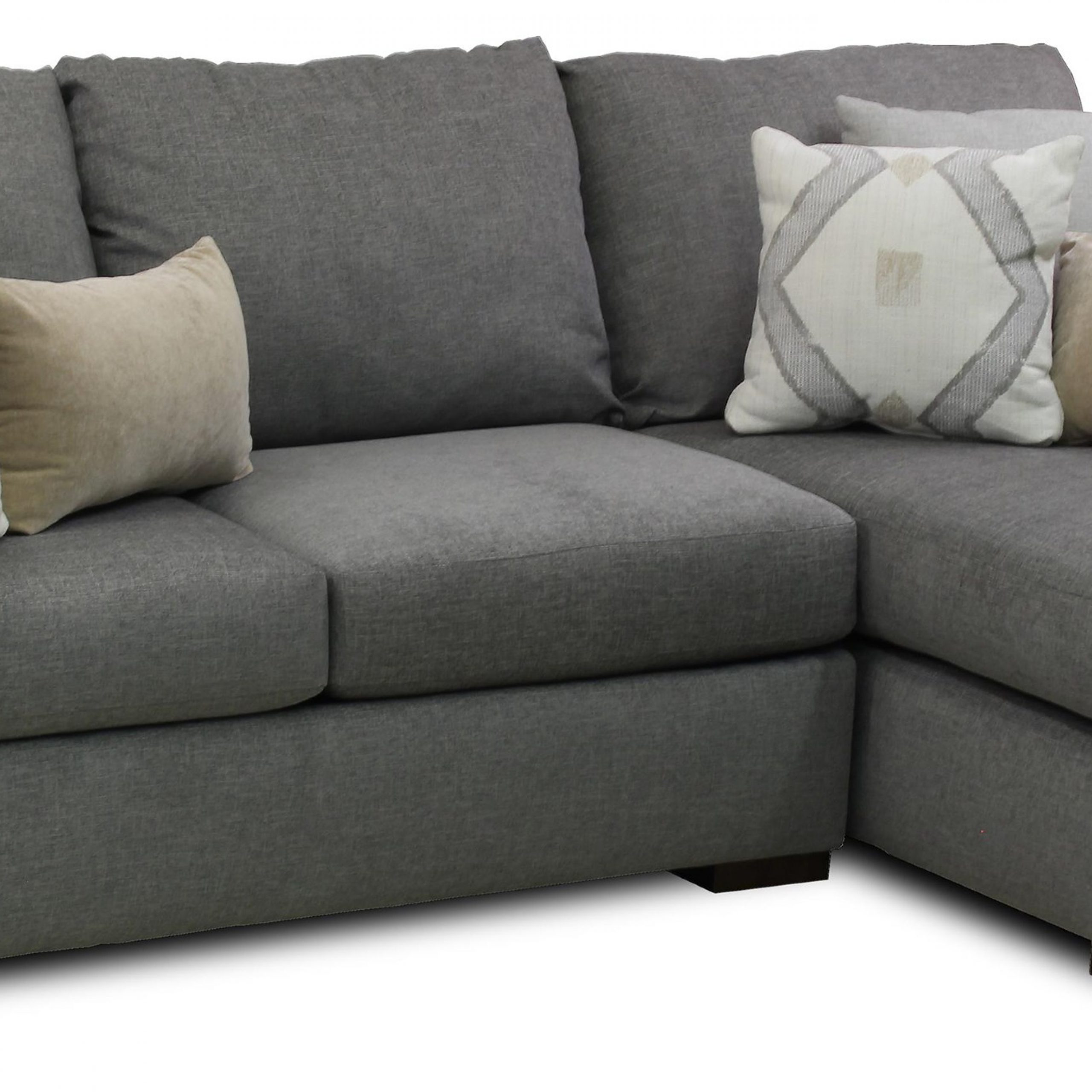 Metropia Coley Contemporary Sectional Sofa With Chaise With 4Pc Crowningshield Contemporary Chaise Sectional Sofas (View 6 of 15)