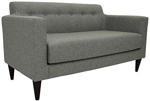 Midcentury Modern Parker Lane Uls Nto Taa7 Netto Tufted Throughout Annette Navy Sofas (View 8 of 15)