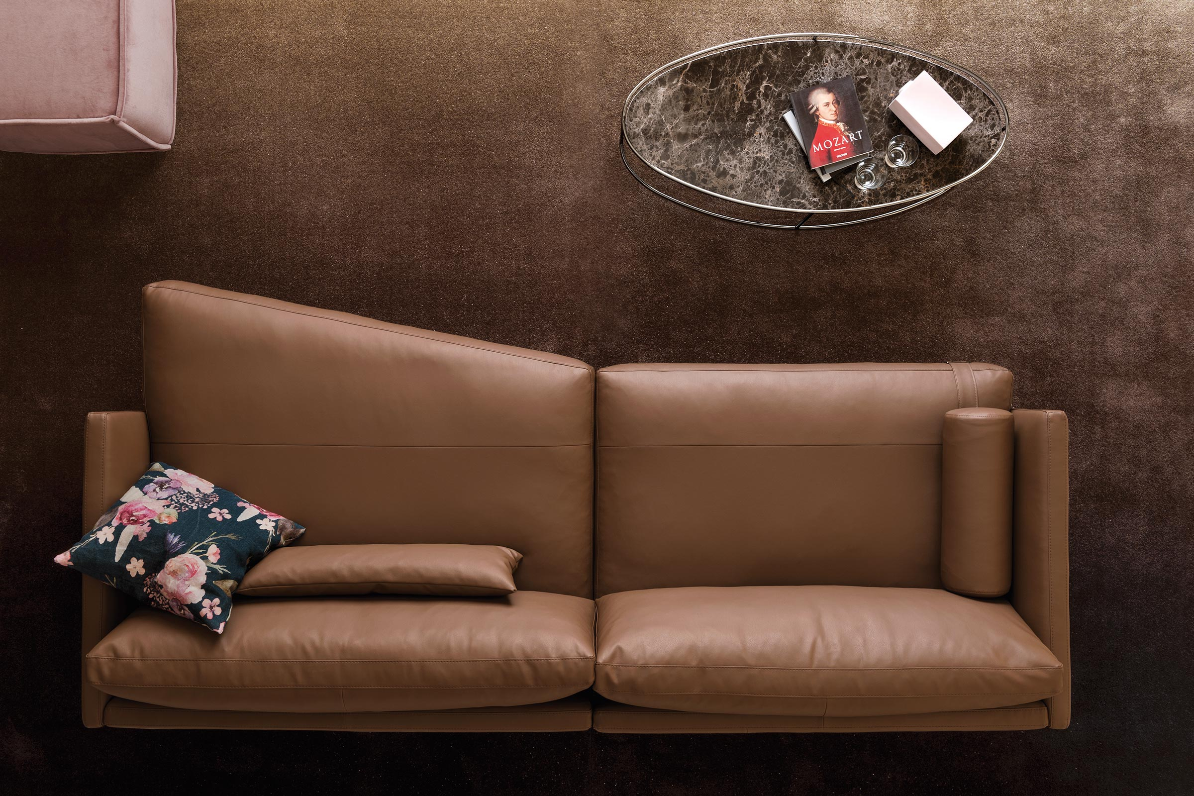 Mies Contemporary Modular Sofa   Calligaris Boca Raton In Lounge Sofas And Chairs (View 11 of 15)