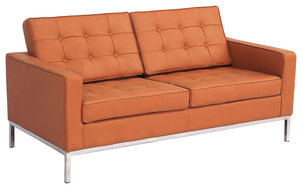 Mlf Florence Knoll Style Loveseat Sofa(Multi Colors&Size In Florence Knoll Living Room Sofas (View 3 of 15)