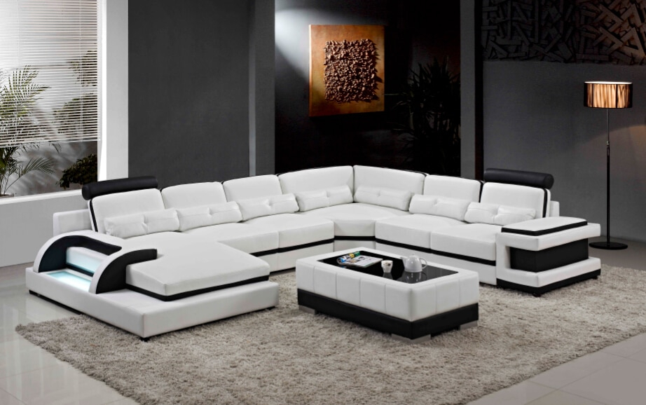 Modern Corner Sofas And Leather Corner Sofas For Sofa Set With Regard To Big Sofa Chairs (View 13 of 15)