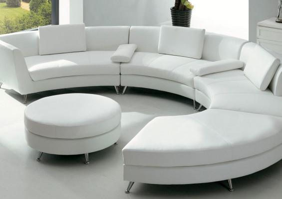Modern Foshan C Shaped Sofa Set Big Round Sofa – Buy White In C Shaped Sofas (View 8 of 15)