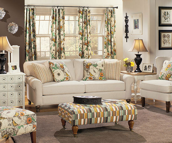 Modern Furniture: 2013 Living Room Furniture Collection Regarding Cottage Style Sofas And Chairs (View 9 of 15)