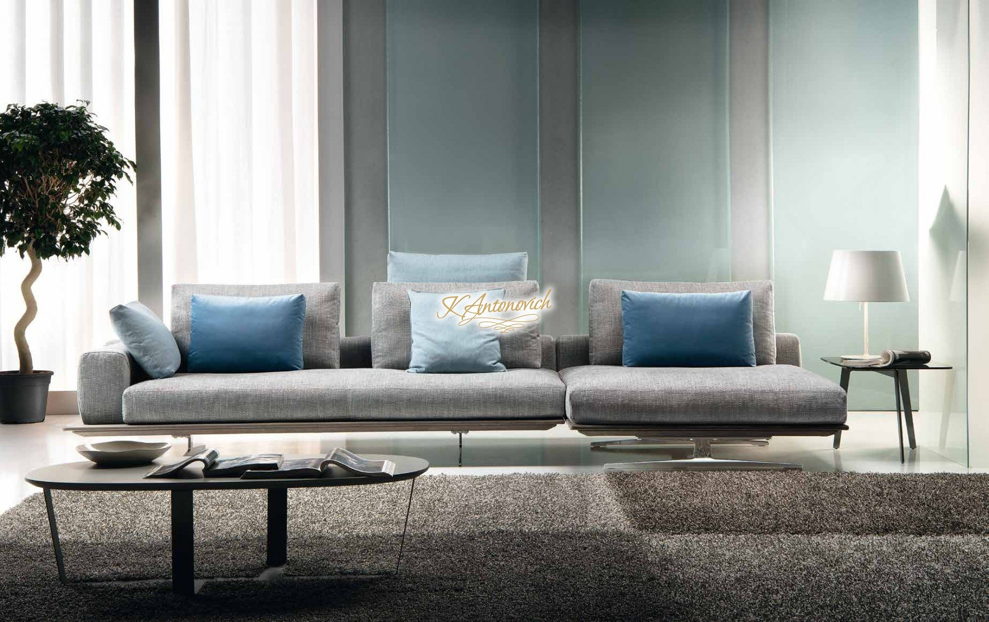 Modern Italian Living Room Furniture – Luxury Interior Regarding Contemporary Sofas And Chairs (View 14 of 15)
