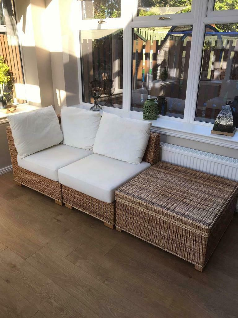 Modern Modular 4 Seater Sofa With Table | In Carluke Inside 4 Seater Sofas (View 5 of 15)