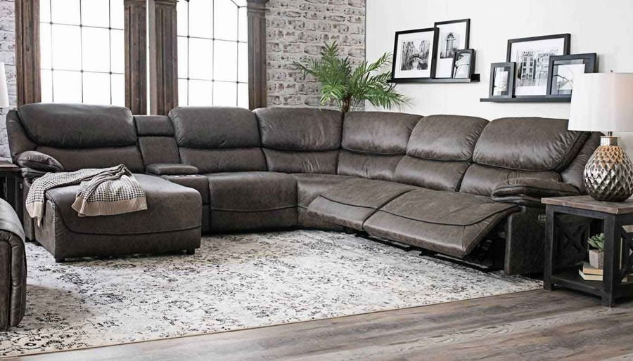 Modular Furniture – Living Room   Home Zone Furniture Regarding Pacifica Gray Power Reclining Sofas (View 2 of 15)