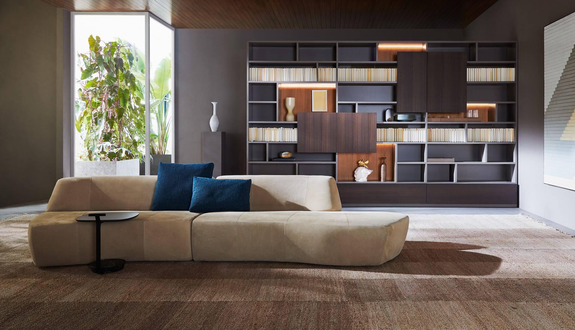 Molteni&C Surf Modular Sofa – Dream Design Interiors Ltd With Dream Navy 3 Piece Modular Sofas (View 13 of 15)