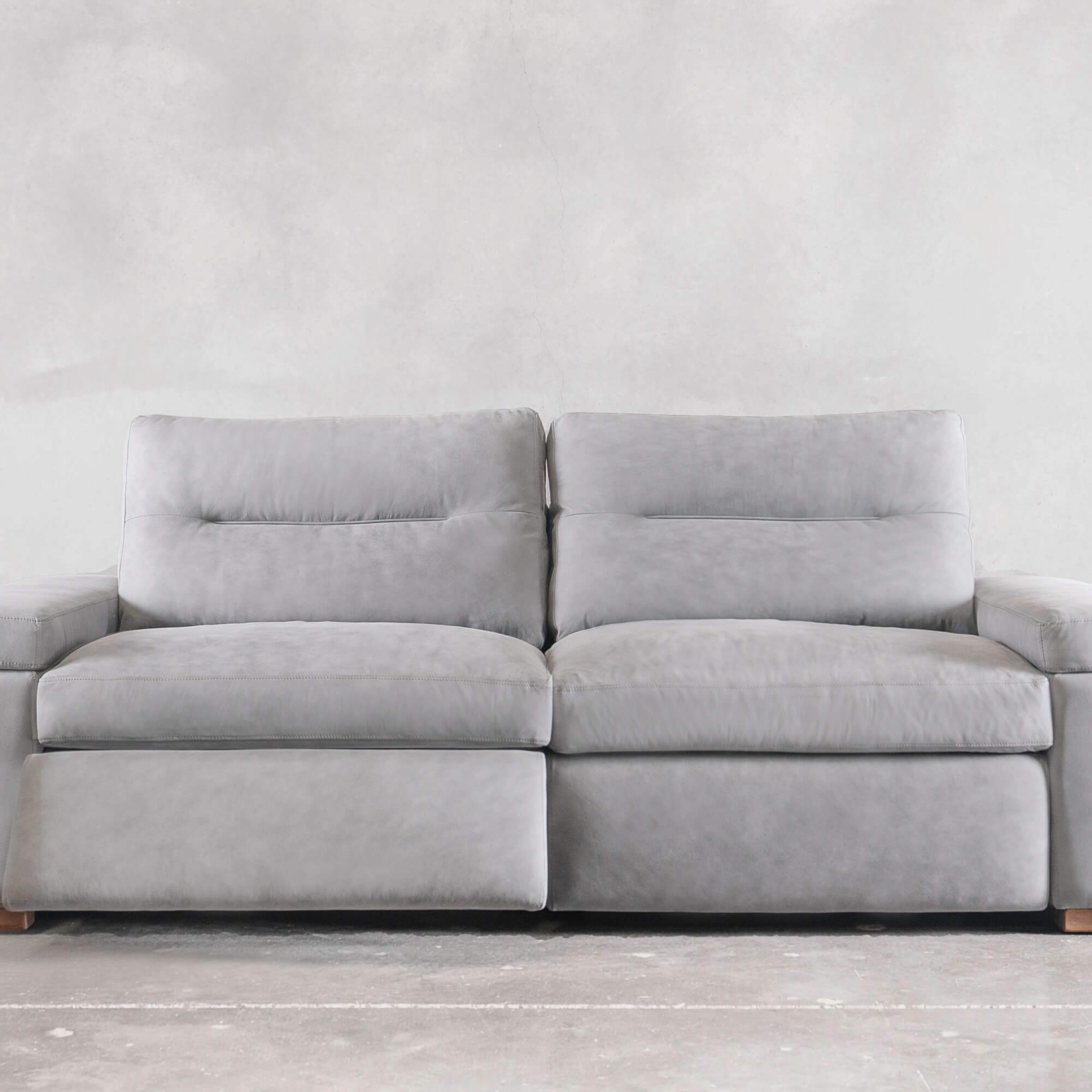 Monaco Reclining Sofa – Creative Leather Pertaining To Lounge Sofas And Chairs (View 1 of 15)