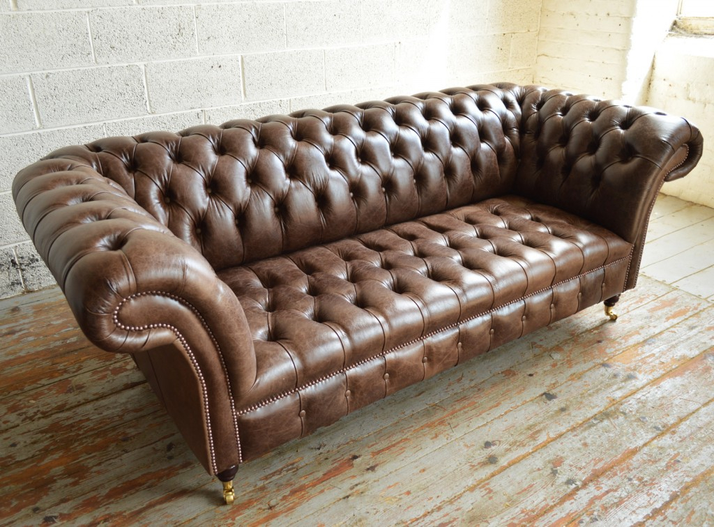 Montana Leather Chesterfield Sofa | Abode Sofas Inside Chesterfield Sofas (View 12 of 15)