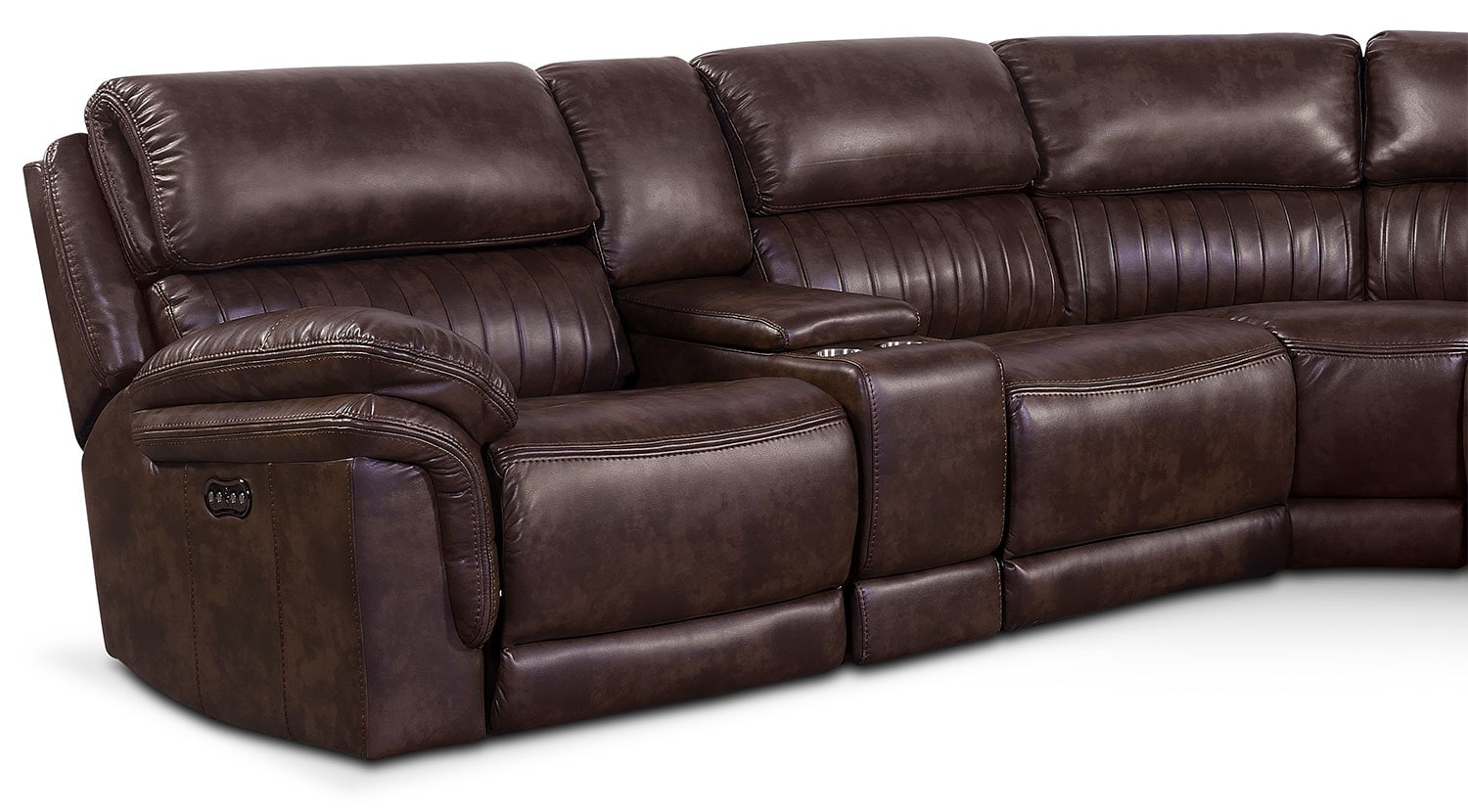 Monterey 6 Piece Power Reclining Sectional With 3 With Lannister Dual Power Reclining Sofas (View 6 of 7)
