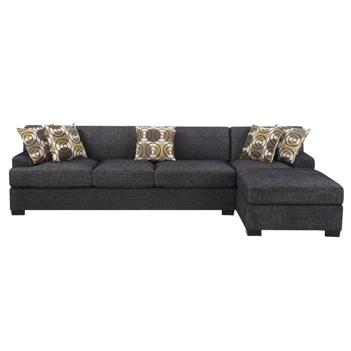Montreal Sectional Sofa | Sectional Sofa With Chaise Within 2Pc Burland Contemporary Chaise Sectional Sofas (View 11 of 15)