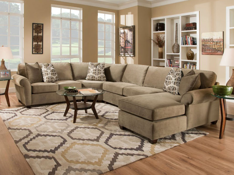 Most Comfortable Sectional Sofa For Fulfilling A Pleasant Within Comfortable Sofas And Chairs (View 15 of 15)
