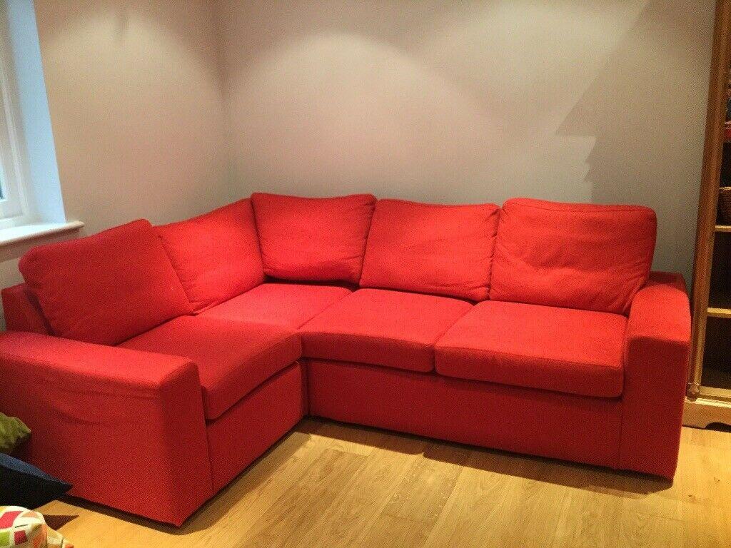 Multiyork Red Corner Sofa | In Sevenoaks, Kent | Gumtree Intended For Red Sofas (View 10 of 15)