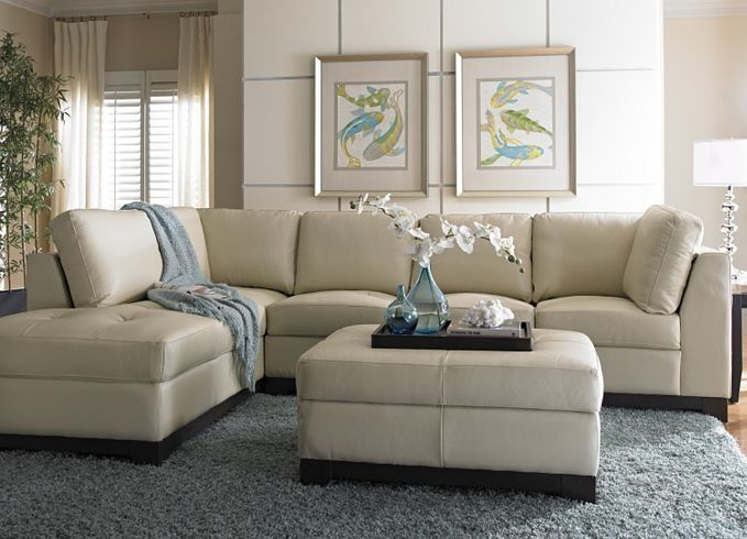 My Carpet One Floor & Home Beautiful Room   Leather Intended For Cream Colored Sofas (View 9 of 15)