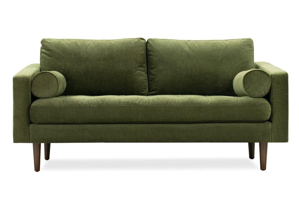 Napa 72#Napa | Apartment Sofa, Sofa, Mid Century Style Sofas Pertaining To Florence Mid Century Modern Right Sectional Sofas Cognac Tan (View 5 of 15)