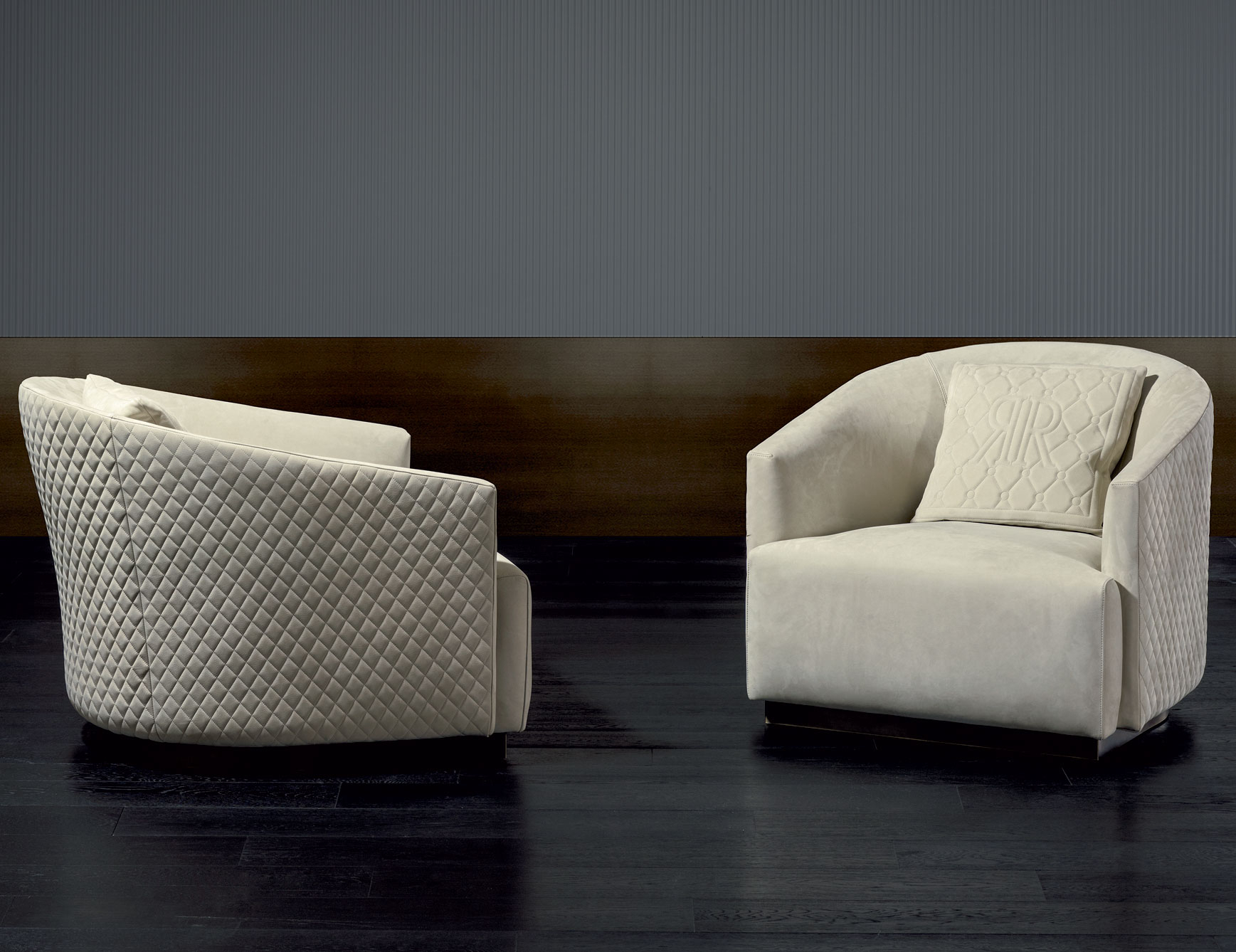 Nella Vetrina Rugiano Opera 6090 Arm Chair In Beige Suede Inside Sofa Arm Chairs (View 12 of 15)