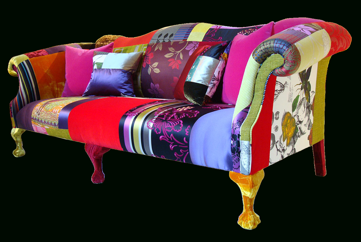 New Furniture Home: Modern Sofa Colourful Printed Fabric Pertaining To Colorful Sofas And Chairs (View 3 of 15)
