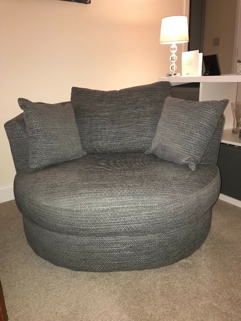 Next Sofa / Chair Grey – Small 2 Seater Or Large 1 Seater Inside Oversized Sofa Chairs (View 12 of 15)