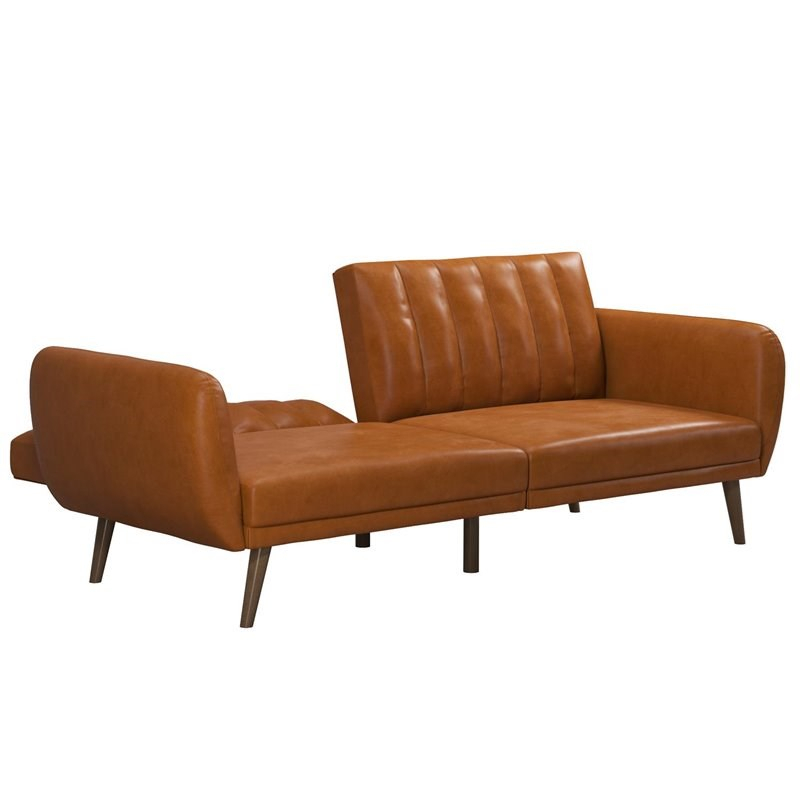 Novogratz Brittany Futon In Convertible Sofa & Couch In Intended For Brittany Sectional Futon Sofas (View 11 of 15)