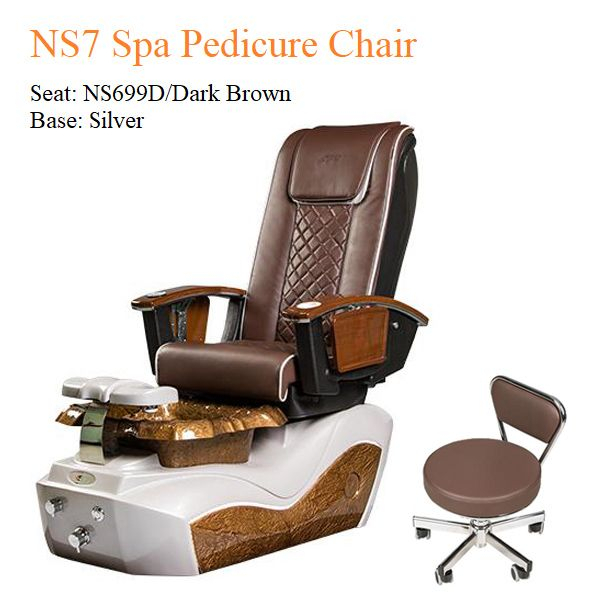 Ns7 Luxury Spa Pedicure Chair With Magnetic Jet And Built Pertaining To Sofa Pedicure Chairs (View 12 of 15)