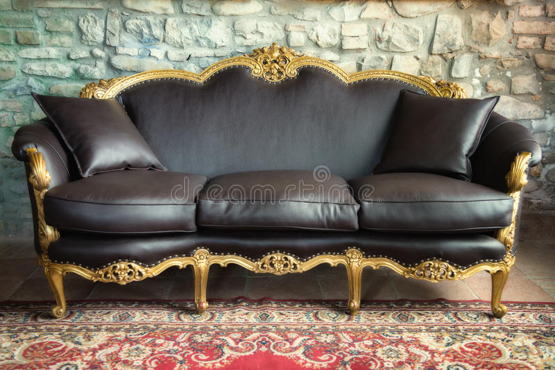 Old Style Sofa Stock Image (View 2 of 15)