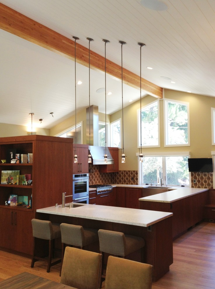 Orinda Ranch House Remodeling – Contemporary – Kitchen With Regard To Orinda Sofas (View 9 of 15)