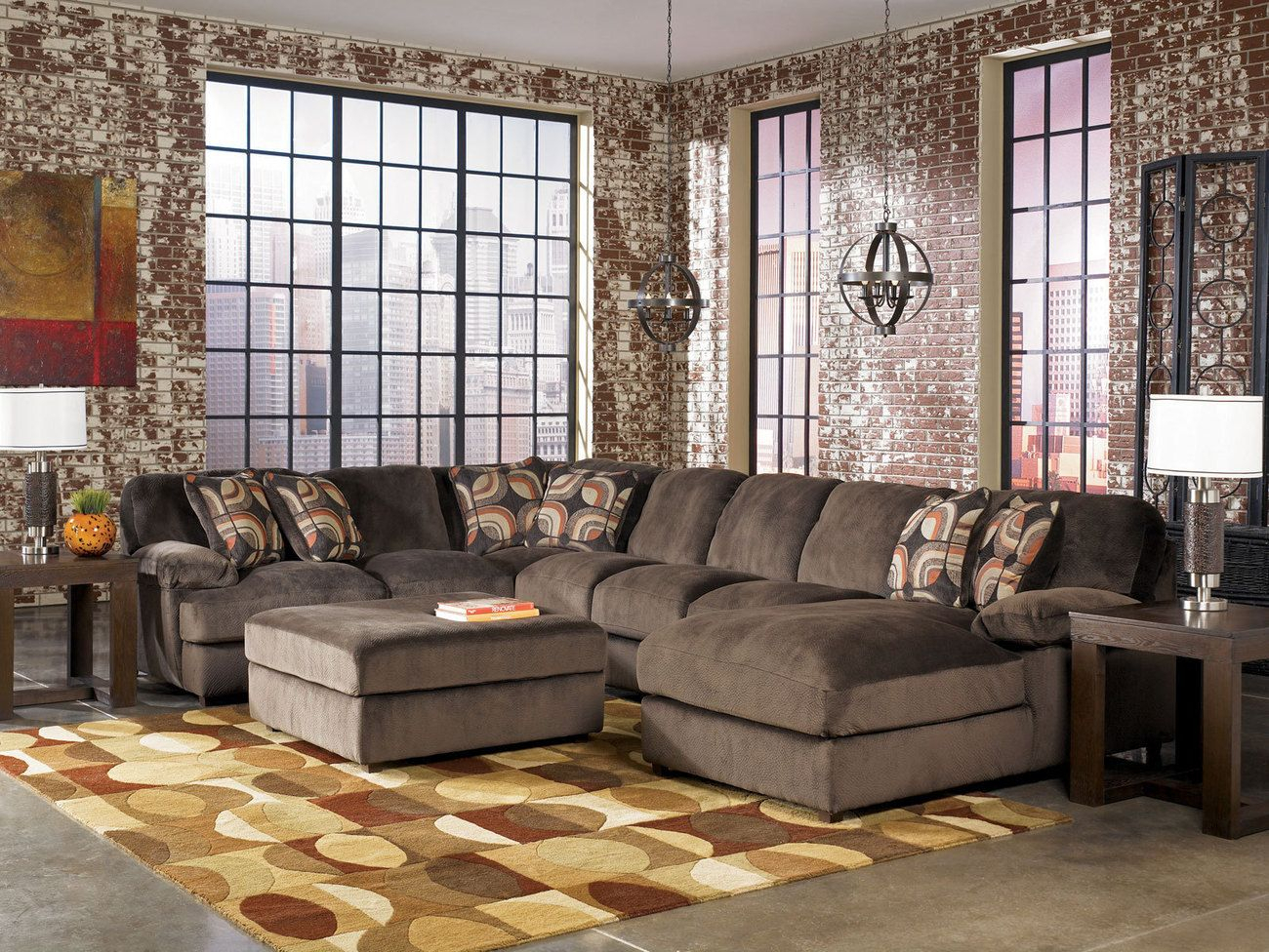 Oversized Sectional Sofas   Best Sofa Design   Large Inside Oversized Sofa Chairs (View 7 of 15)