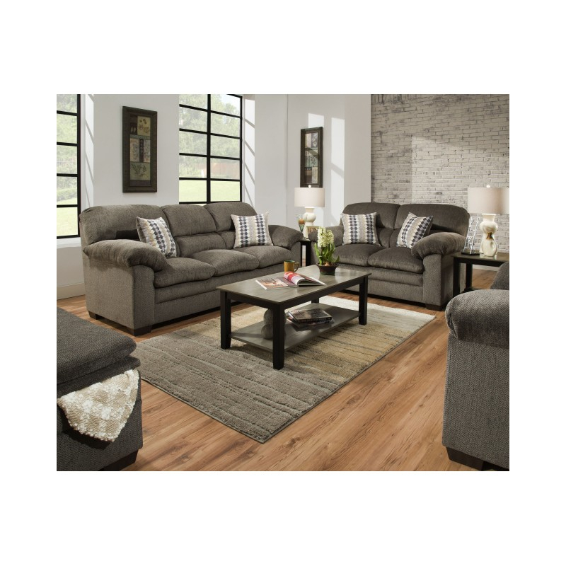 Overstuffed Sofa And Loveseat – Grubbs Furniture And Inside Overstuffed Sofas And Chairs (View 15 of 15)