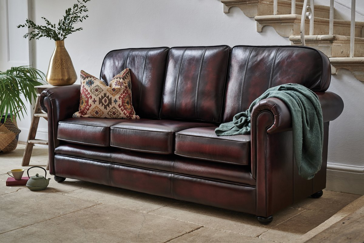Oxford 3 Seater Leather Sofa – Sale Now On! With Oxford Sofas (View 2 of 15)
