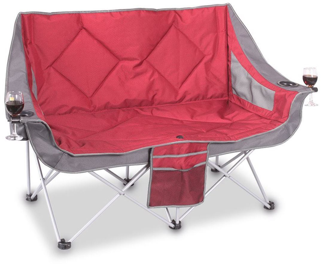 Oztrail Galaxy Sofa Camp Chair   Snowys Outdoors Throughout Folding Sofa Chairs (View 9 of 15)