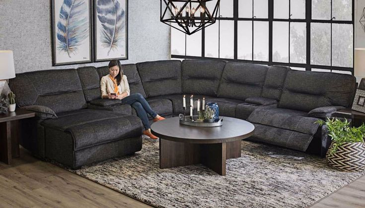 Pacifica 7 Piece Sectional In 2020   Living Room Sofa Throughout Pacifica Gray Power Reclining Sofas (View 11 of 15)