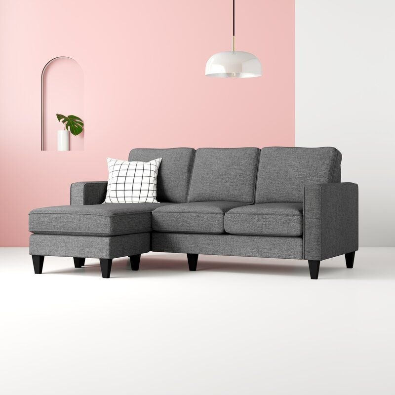 """Palisades 80"""" Wide Reversible Sofa & Chaise   Sectional Inside Palisades Reversible Small Space Sectional Sofas With Storage (View 8 of 15)"""