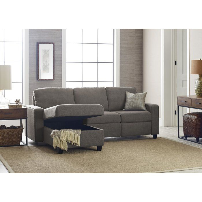 """Palisades 89"""" Wide Reclining Sofa & Chaise 