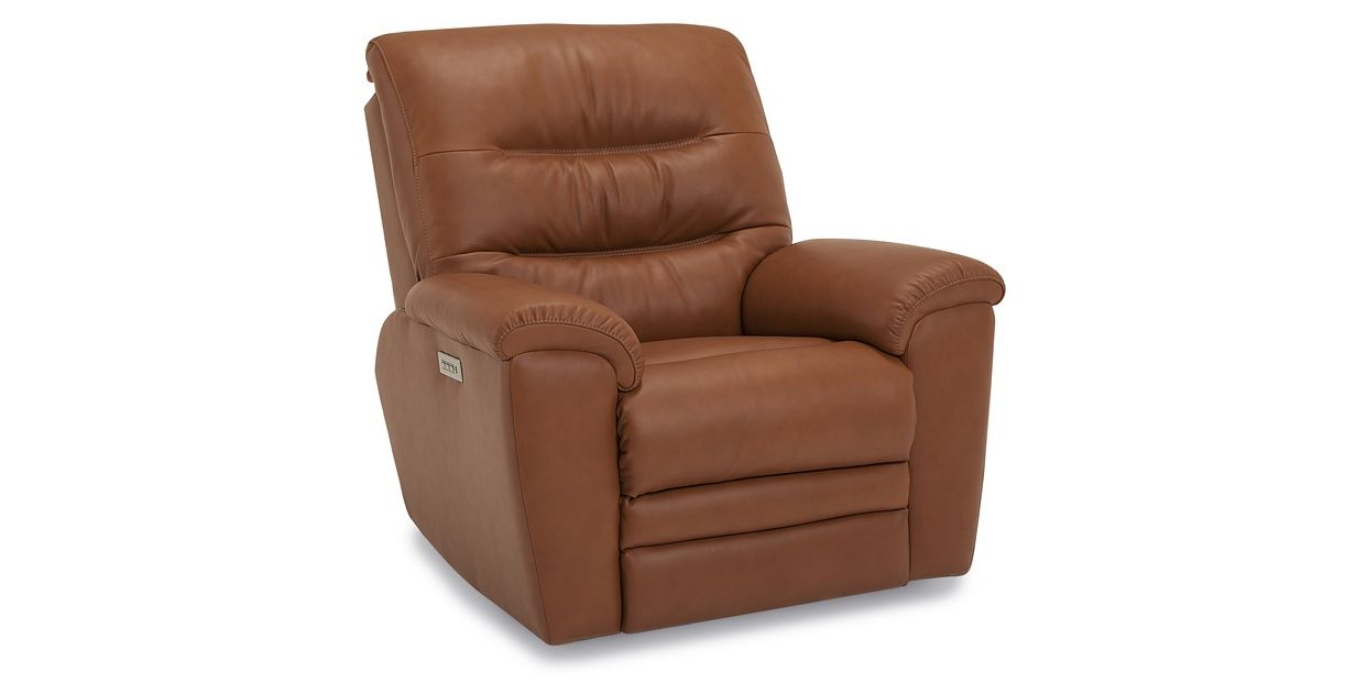 Palliser Leather Keiran Power Recliner With Walker Gray Power Reclining Sofas (View 4 of 15)