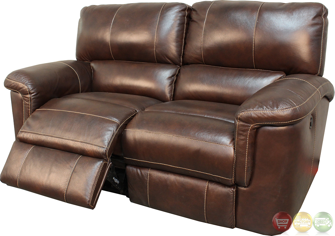 Parker Living Hitchcock Cigar Brown Leather Reclining Sofa Regarding Expedition Brown Power Reclining Sofas (View 13 of 15)