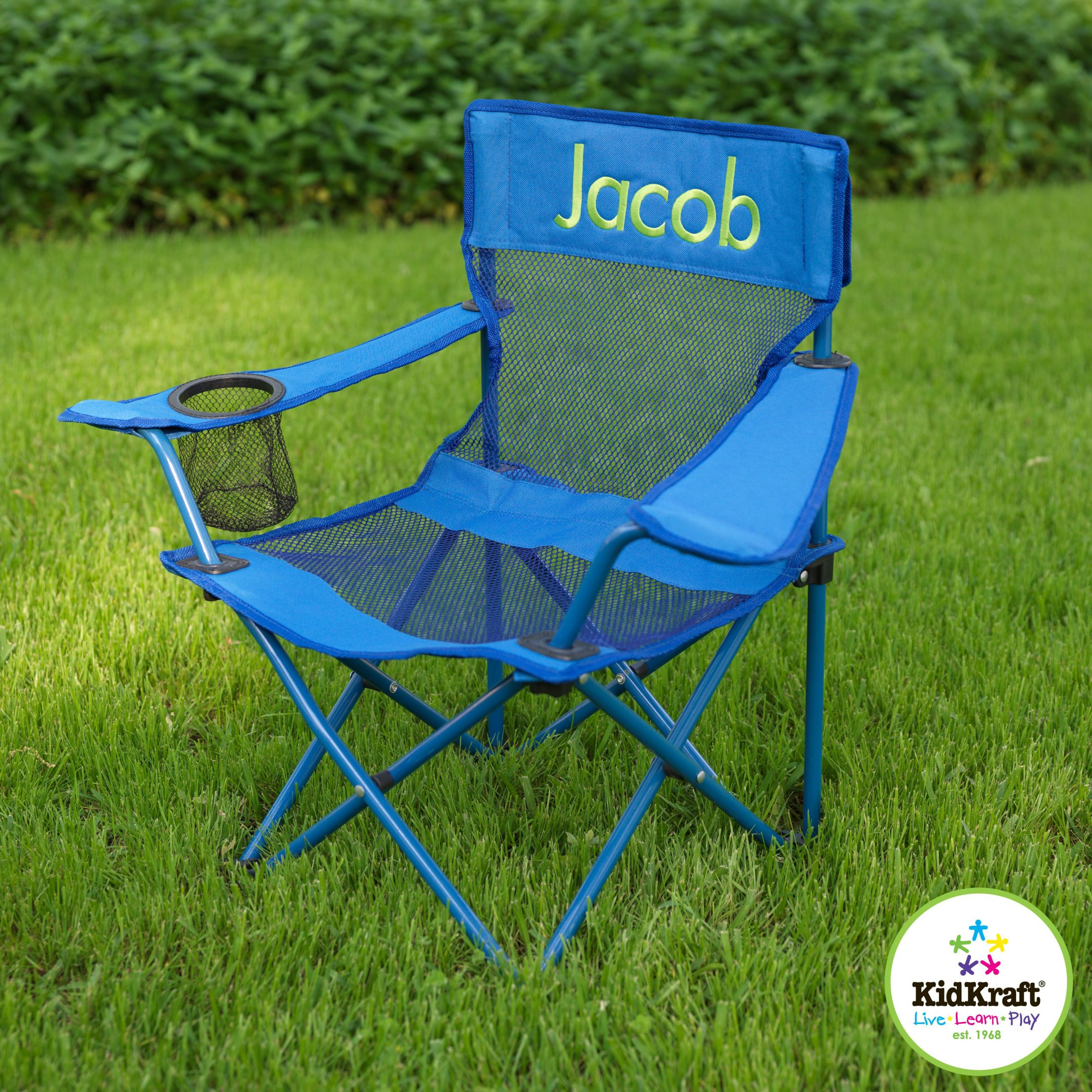 Personalized Chair Great For Sporting Events, The Beach In Personalized Kids Chairs And Sofas (View 8 of 15)