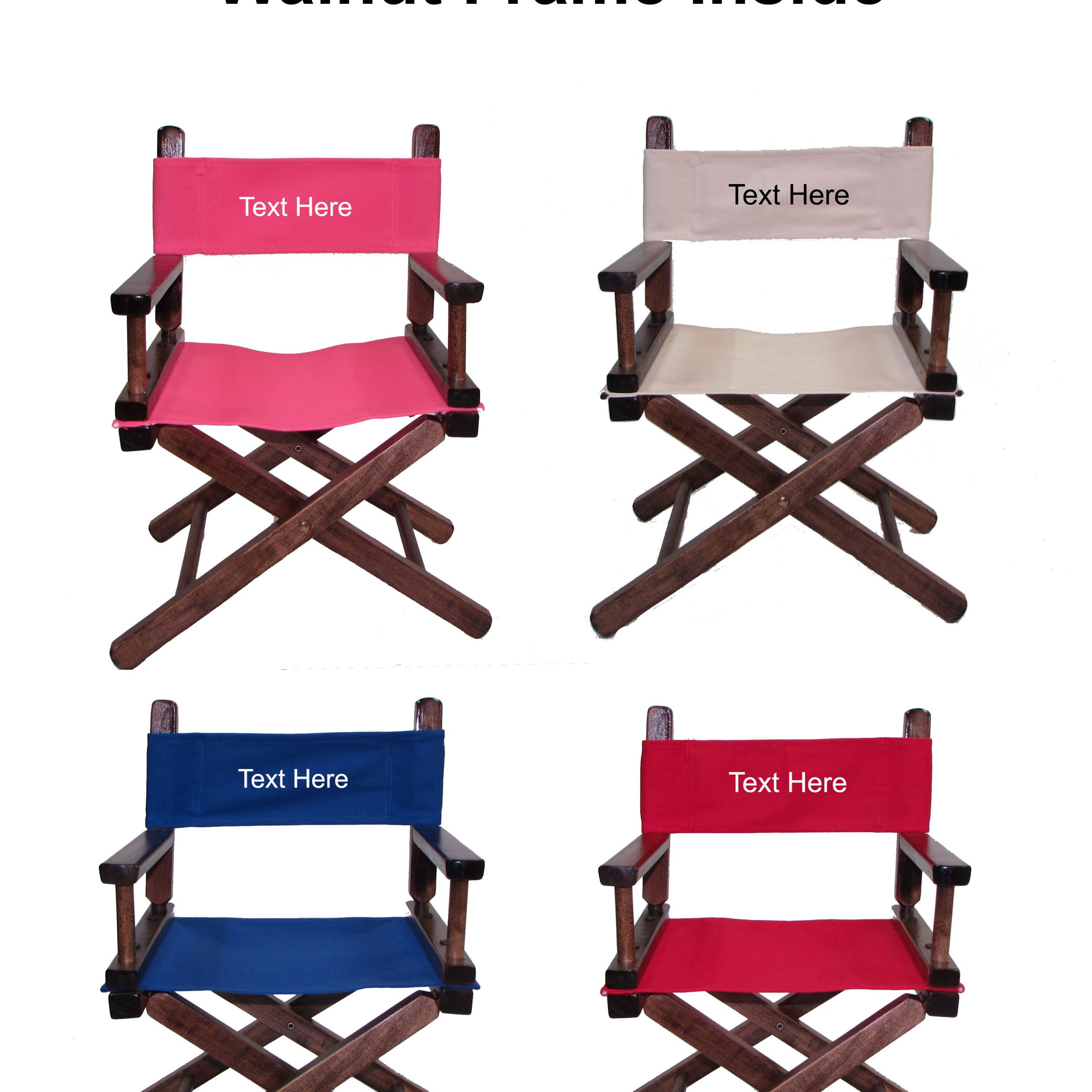 Personalized Toddlers Director Chair   Kids Directors Inside Personalized Kids Chairs And Sofas (View 10 of 15)