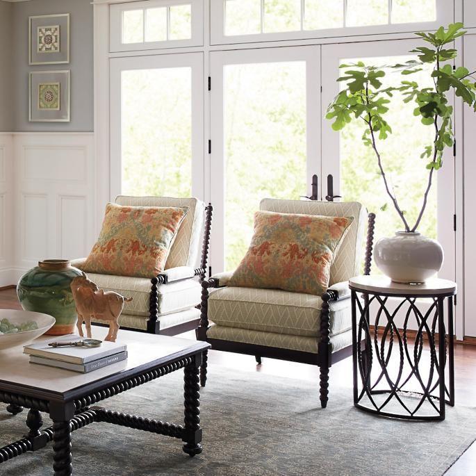 Petite Bobbin Chair | Bobbin Chair, Chair, Home Decor Inside Debbie Coil Sectional Sofas (View 4 of 15)