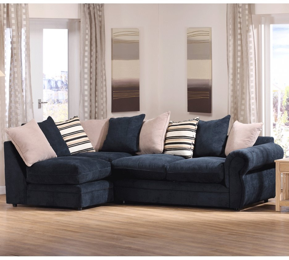 Photo Small Leather Corner Sofa Small Room Sectional Sofas Throughout Small Sofas And Chairs (View 5 of 15)
