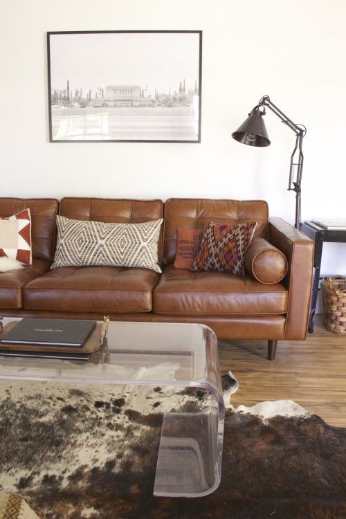 Pin On Southwest Mid Century Pertaining To Florence Mid Century Modern Right Sectional Sofas Cognac Tan (View 7 of 15)