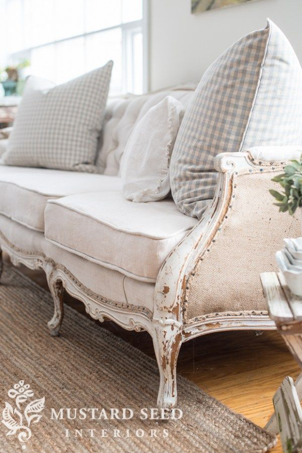 Pin On Vintage Decor Inside French Seamed Sectional Sofas Oblong Mustard (View 14 of 15)