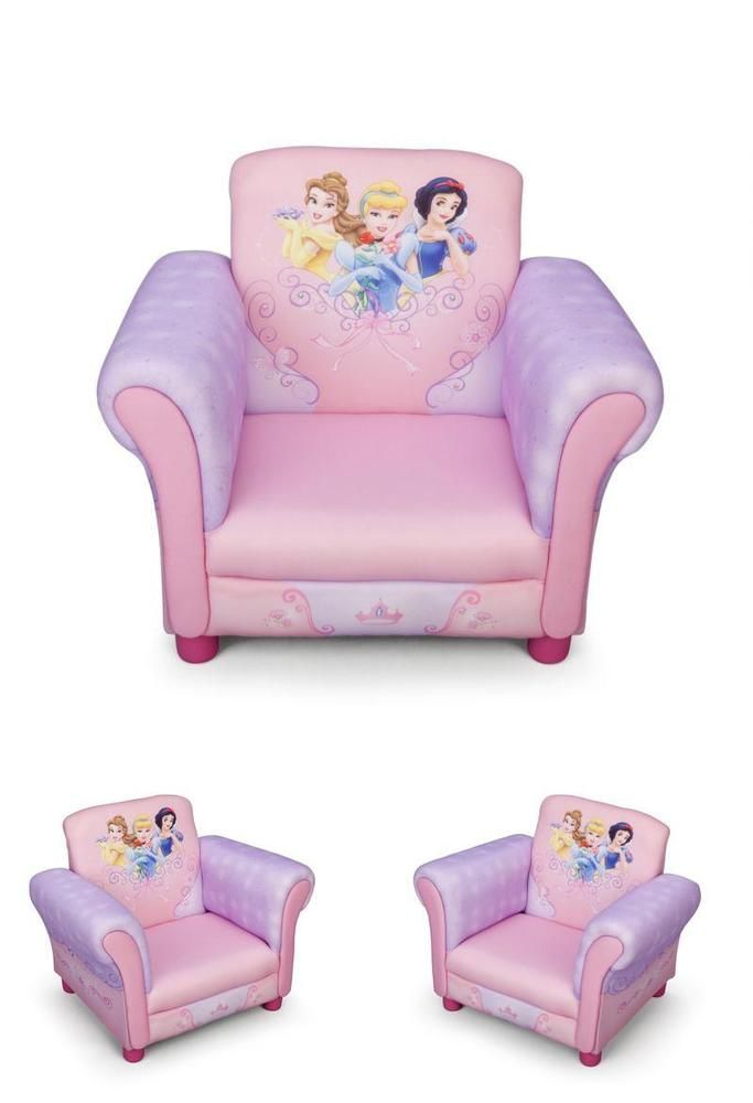 Pink Toddler Chair Disney Princess Armchair Children With Regard To Disney Sofa Chairs (View 6 of 15)