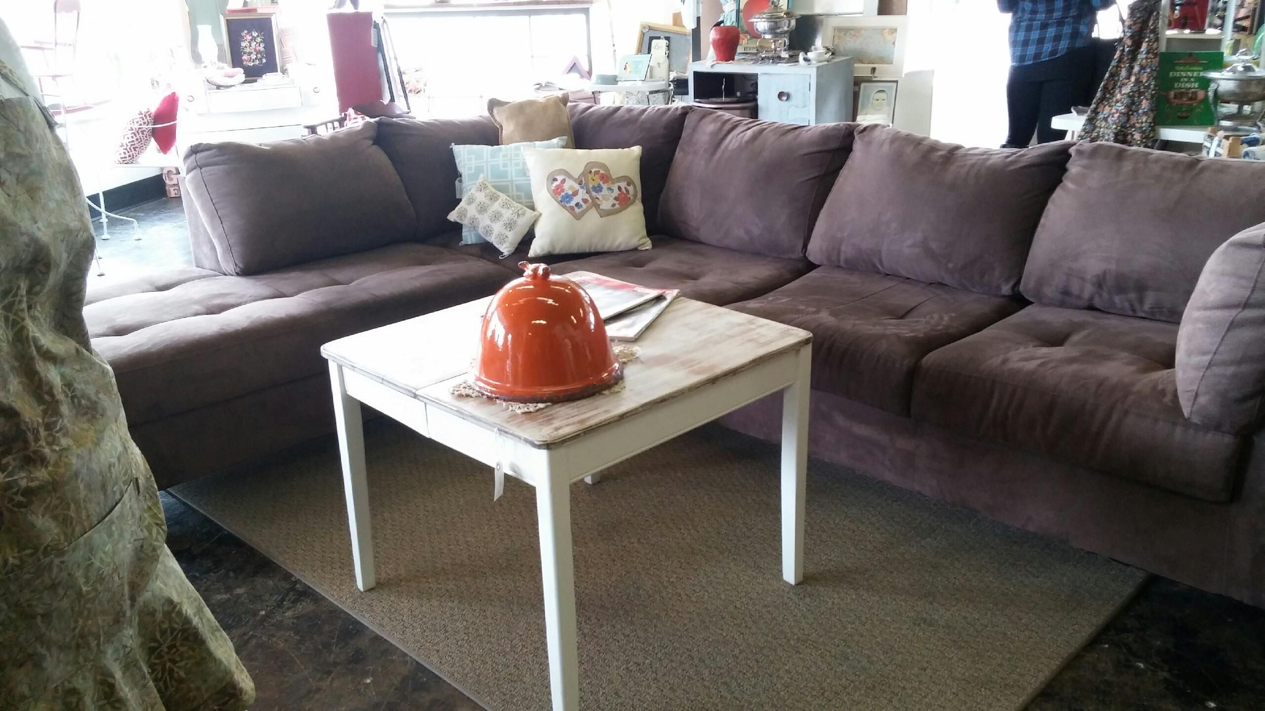Pinmustard Seed Home Decor & More On Furniture Within French Seamed Sectional Sofas Oblong Mustard (View 7 of 15)